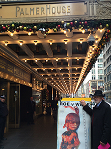 Protest at the Palmer House